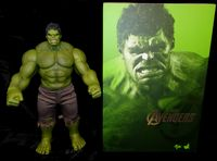 Hot Toys - The Avengers: Hulk - 1/6 Scale Movie Masterpiece Collectible Figure